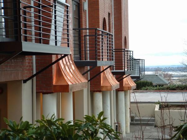 Copper Bay Window Cms Metal Fabrication