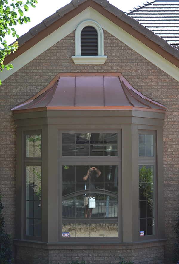 Copper Bay Window Roofing Cms Metal Fabrication