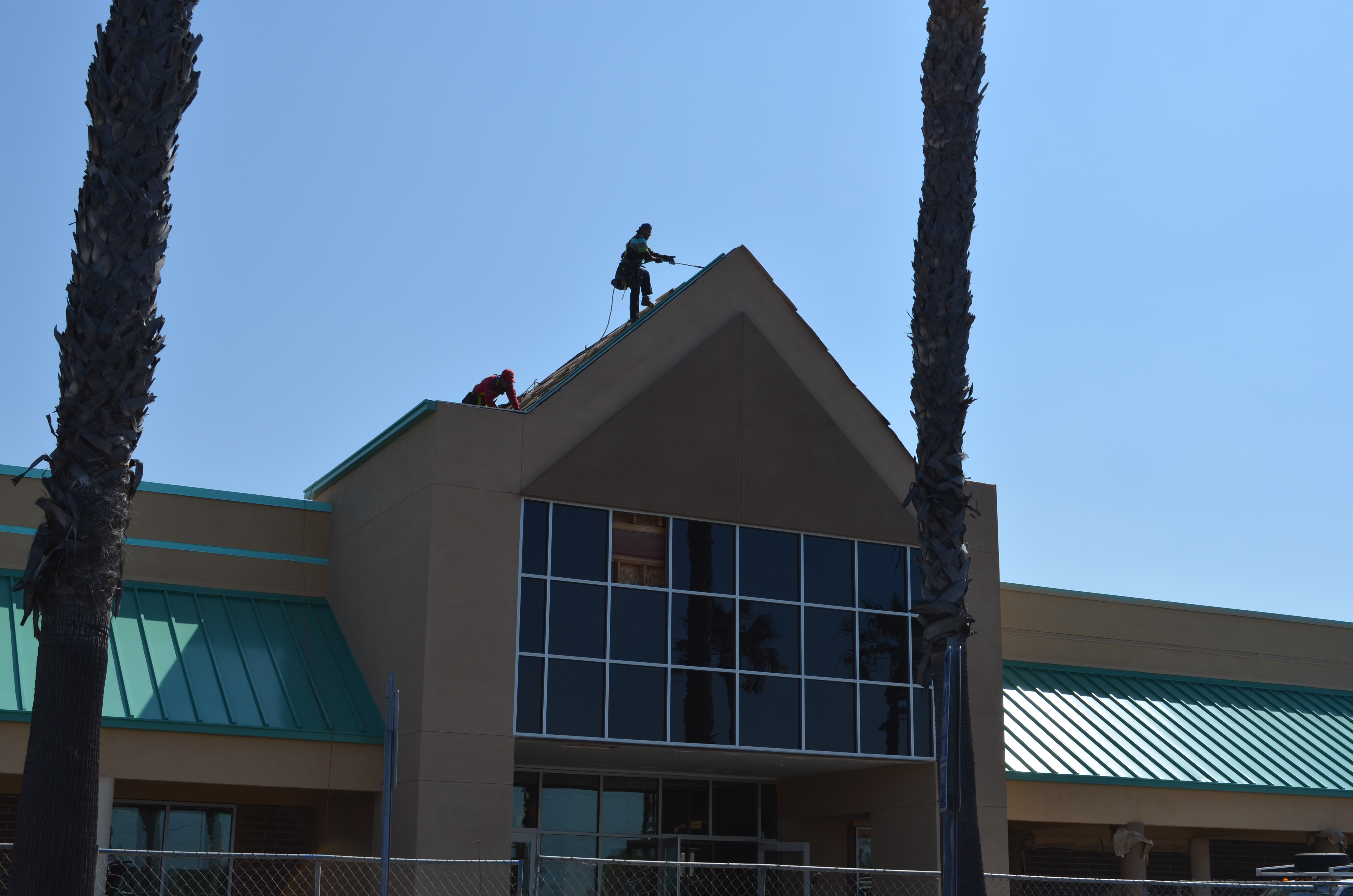 Painted Metal Roofing Cms Metal Fabrication